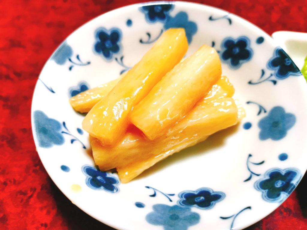 長芋の煮付